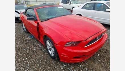 2014 Ford Mustang Convertible for sale 101411191