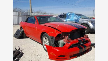 2014 Ford Mustang Convertible for sale 101467417