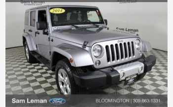 2014 Jeep Wrangler 4WD Unlimited Sahara for sale 101073436