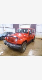 2014 Jeep Wrangler 4WD Unlimited Rubicon for sale 100982778