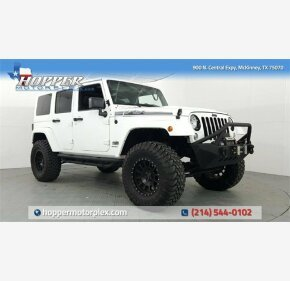 2014 Jeep Wrangler 4WD Unlimited Sahara for sale 101100684