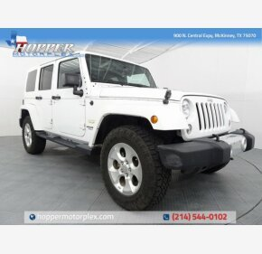 2014 Jeep Wrangler 4WD Unlimited Sahara for sale 101203034