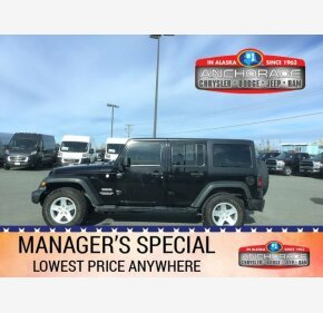 2014 Jeep Wrangler 4WD Unlimited Sport for sale 101220108