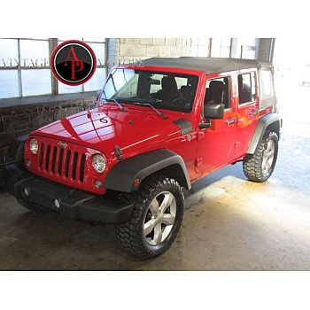 2014 Jeep Wrangler 4WD Unlimited Sport for sale 101221833