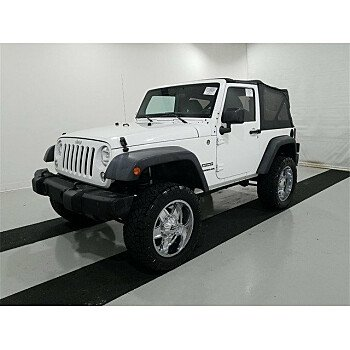2014 Jeep Wrangler 4WD Sport for sale 101239350