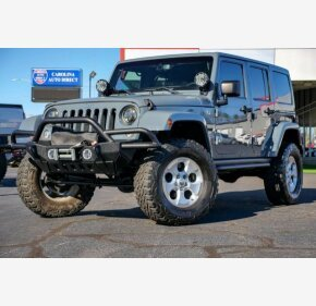 2014 Jeep Wrangler 4WD Unlimited Sahara for sale 101260462