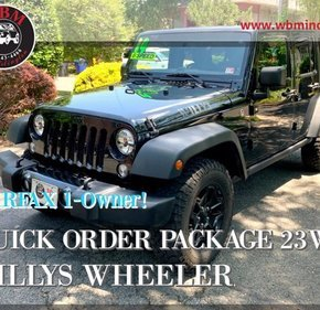 2014 Jeep Wrangler for sale 101347365