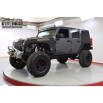 2014 Jeep Wrangler 4WD Unlimited Rubicon for sale 101598088