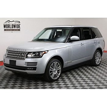 2014 Land Rover Range Rover Supercharged for sale 100916647