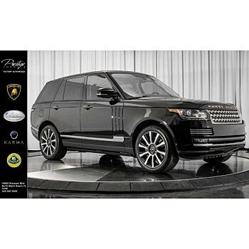 2014 Land Rover Range Rover Autobiography for sale 101077365