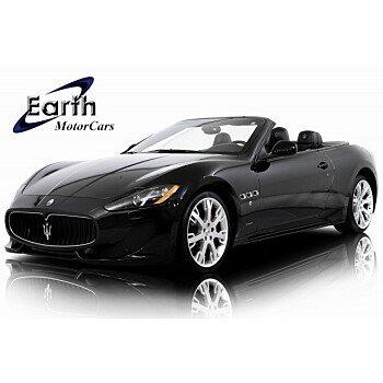2014 Maserati GranTurismo Convertible for sale 101283035