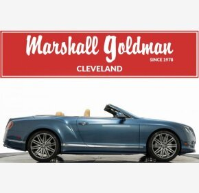 2015 Bentley Continental GTC Speed Convertible for sale 101246086