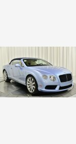 2015 Bentley Continental GT V8 Convertible for sale 101260487