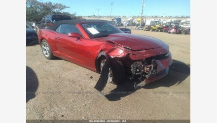 2015 Chevrolet Camaro LT Convertible for sale 101223972