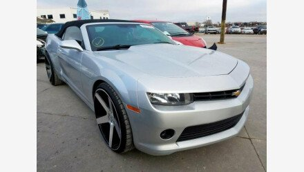 2015 Chevrolet Camaro LT Convertible for sale 101253725