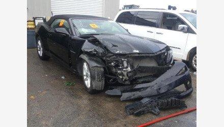 2015 Chevrolet Camaro LT Convertible for sale 101307892