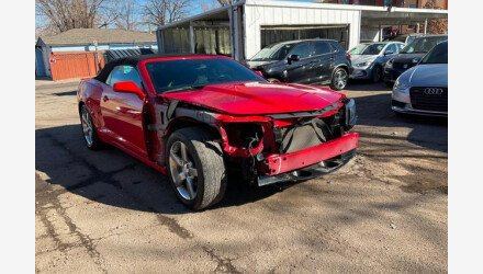 2015 Chevrolet Camaro LT Convertible for sale 101462499