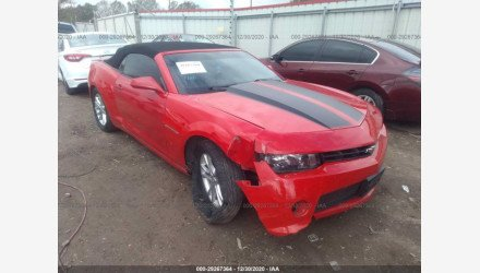 2015 Chevrolet Camaro LT Convertible for sale 101464866