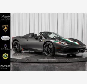 2015 Ferrari 458 Italia Speciale A Spider for sale 101389408
