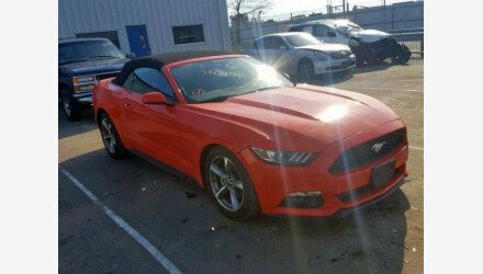 2015 Ford Mustang Convertible for sale 101112074