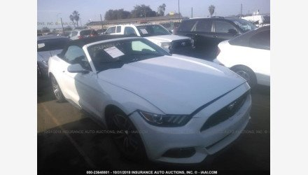 2015 Ford Mustang Convertible for sale 101124696