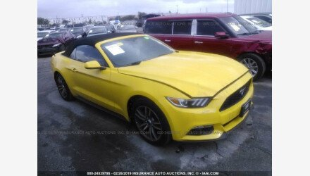 2015 Ford Mustang Convertible for sale 101128723