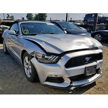 2015 Ford Mustang Convertible for sale 101173854