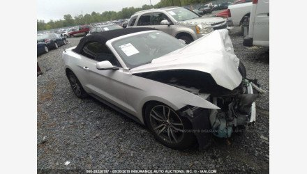 2015 Ford Mustang Convertible for sale 101189964