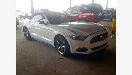 2015 Ford Mustang Convertible for sale 101193635