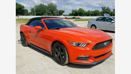 2015 Ford Mustang Convertible for sale 101209018