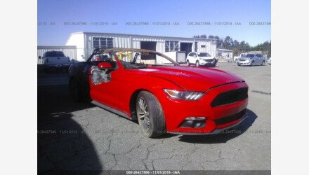 2015 Ford Mustang Convertible for sale 101232656