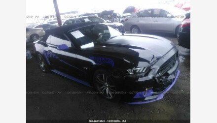 2015 Ford Mustang Convertible for sale 101279389