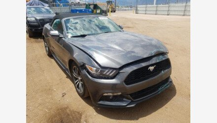 2015 Ford Mustang Convertible for sale 101453889