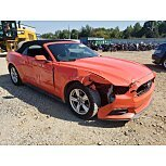 2015 Ford Mustang Convertible for sale 101627703