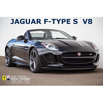 2015 Jaguar F-TYPE V8 S Convertible for sale 101119193