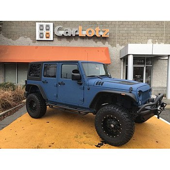 2015 Jeep Wrangler 4WD Unlimited Sport for sale 101041706