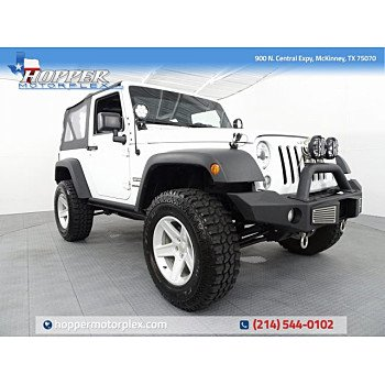 2015 Jeep Wrangler 4WD Sport for sale 101201150