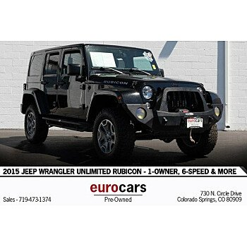 2015 Jeep Wrangler 4WD Unlimited Rubicon for sale 101209619