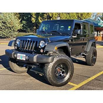 2015 Jeep Wrangler 4WD Unlimited Sport for sale 101229180