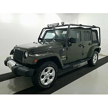 2015 Jeep Wrangler 4WD Unlimited Sahara for sale 101243374