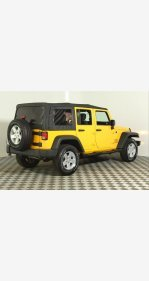 2015 Jeep Wrangler 4WD Unlimited Sport for sale 101260376