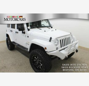 2015 Jeep Wrangler 4WD Unlimited Sahara for sale 101262287