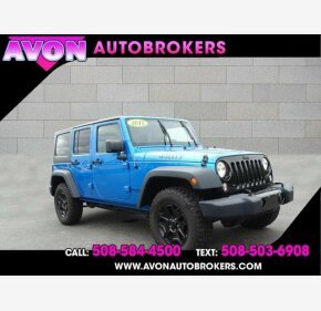 2015 Jeep Wrangler 4WD Unlimited Sport for sale 101332047