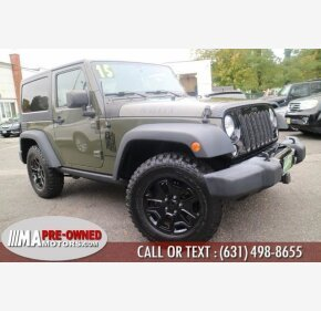 2015 Jeep Wrangler for sale 101396219
