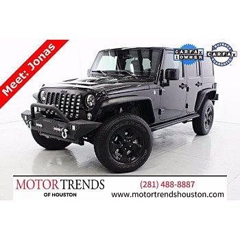 2015 Jeep Wrangler for sale 101452630