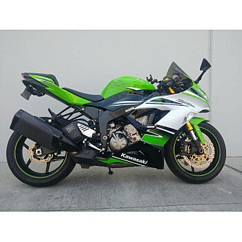 2015 Kawasaki Ninja ZX-6R for sale 200623792