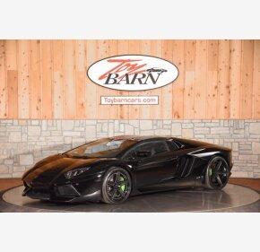 2015 Lamborghini Aventador LP 700-4 Roadster for sale 101433248