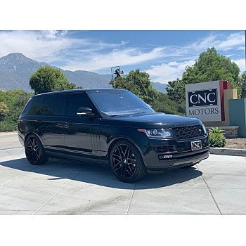 2015 Land Rover Range Rover Autobiography Black for sale 101179530