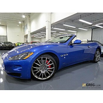 2015 Maserati GranTurismo Convertible for sale 101043584