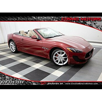 2015 Maserati GranTurismo Convertible for sale 101081789